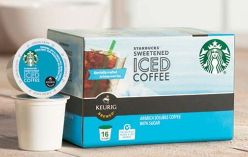 starbucks iced coffee kcups deal - Starbucks Keurig Cups