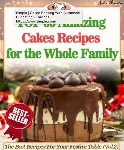 Top 35 Amazing Cakes Recipes for the Whole Family eBook
