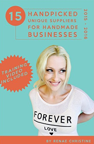 15 Handpicked Unique Suppliers for Handmade Businesses eBook