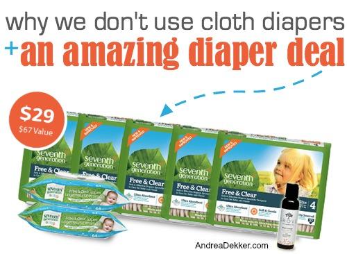 Seventh Generation Diaper Deal