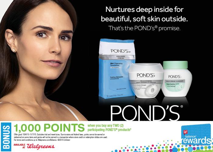 Pond's Deal at Walgreens
