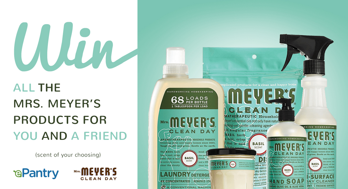 ePantry Mrs. Meyer's Giveaway Pack