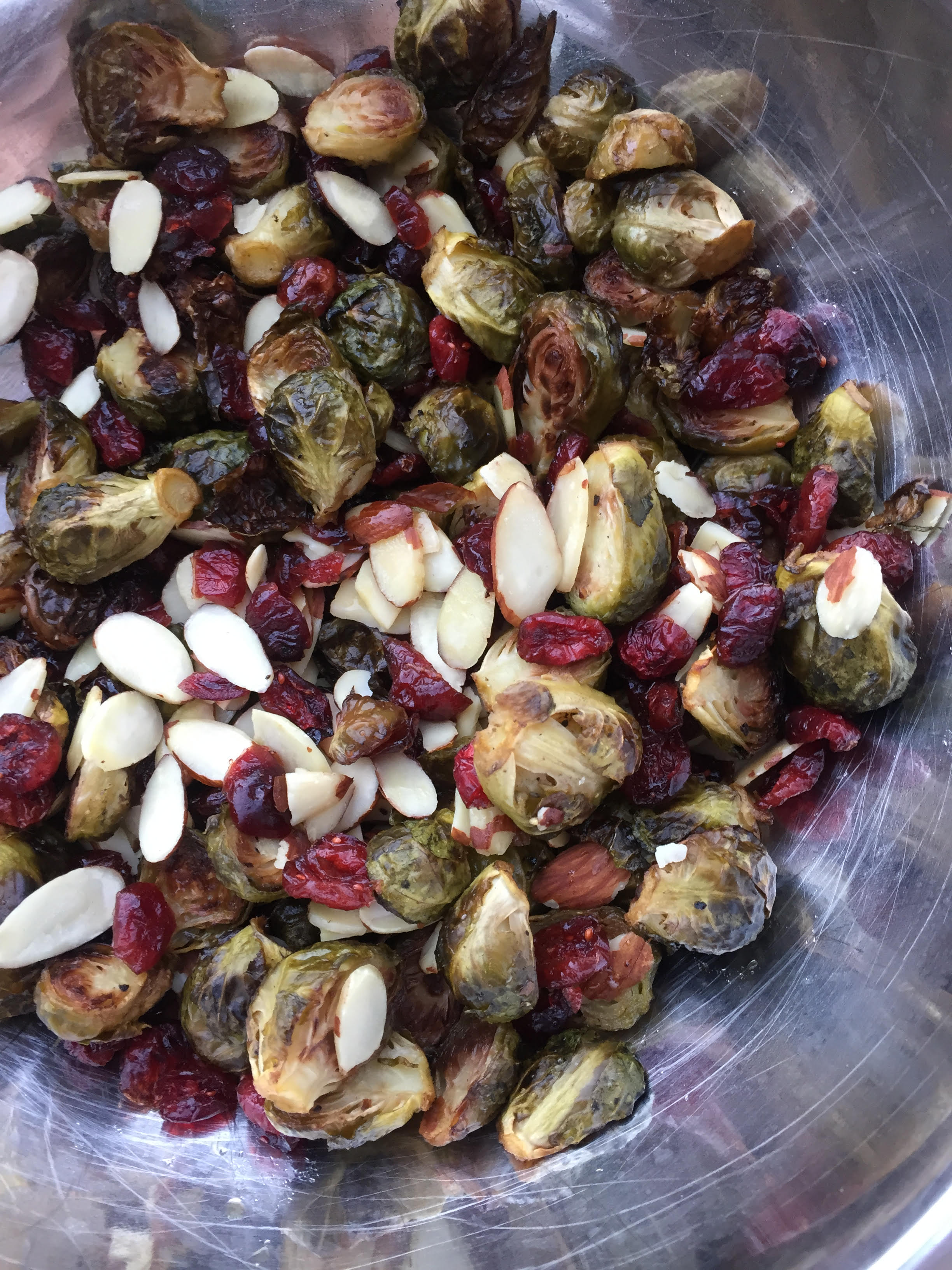 Honey Roasted Brussel Sprouts