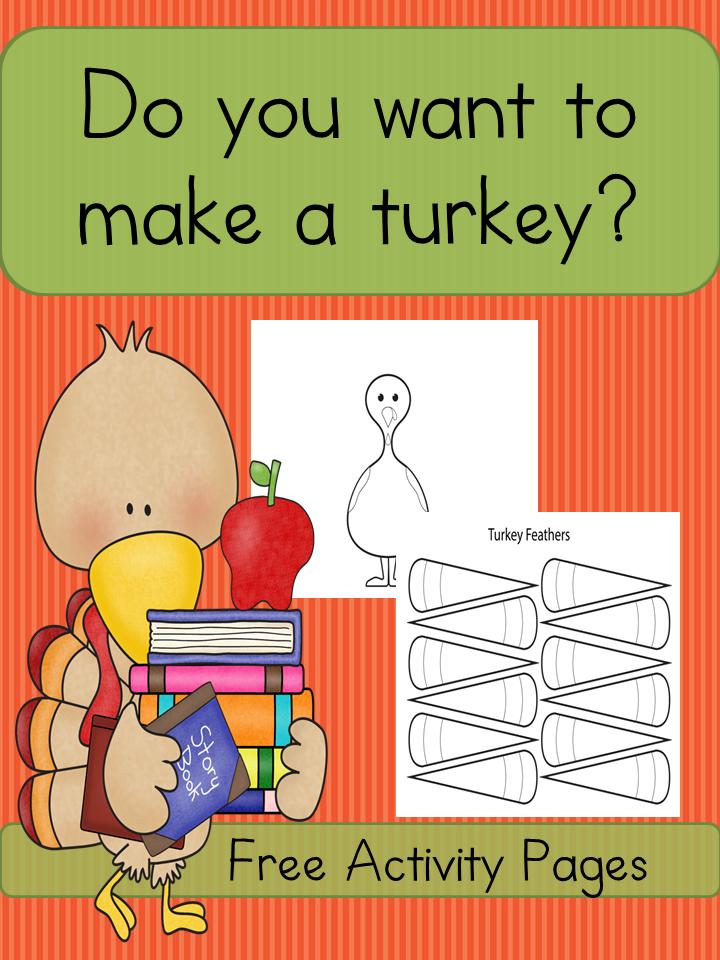 Build A Turkey Printable Activity
