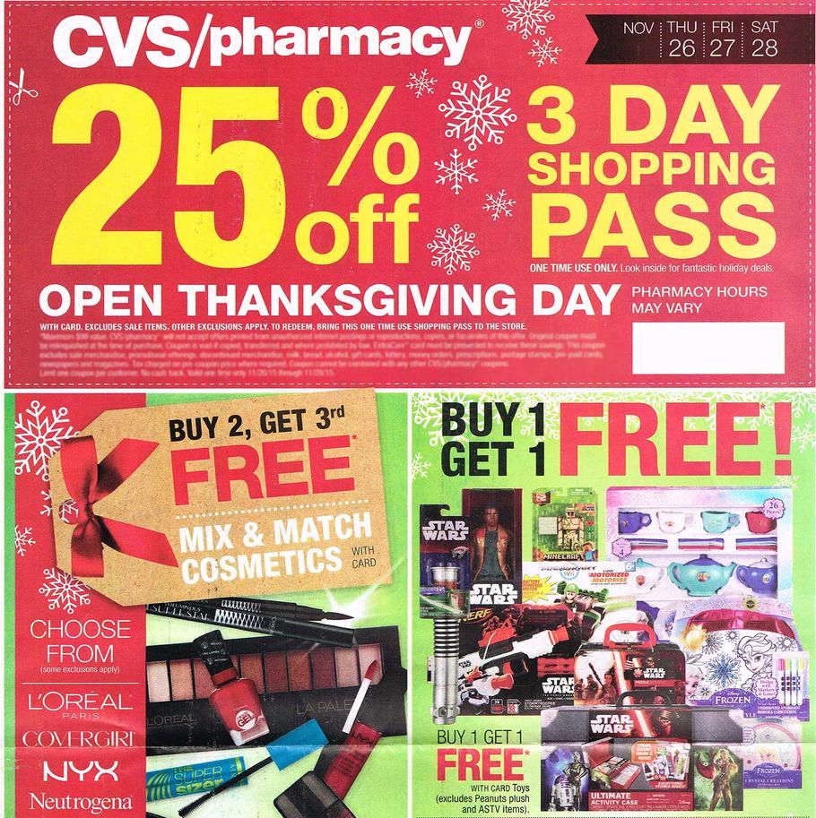 CVS Pharmacy Black Friday Ad 2015