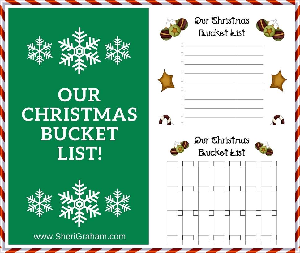 Free Christmas Bucket List