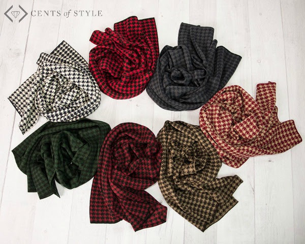Free Houndstooth Scarf Cents of Style Black Friday Deal