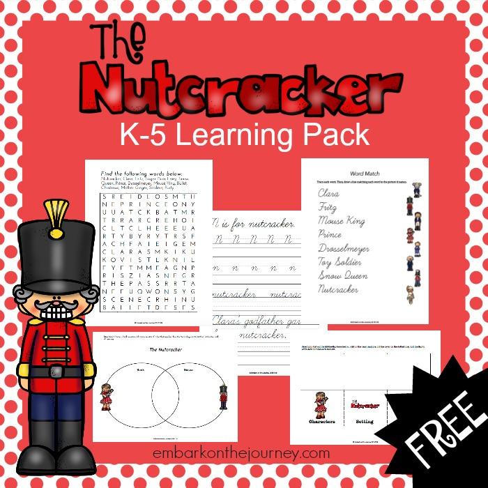 Free Nutcracker Printable Learning Pack