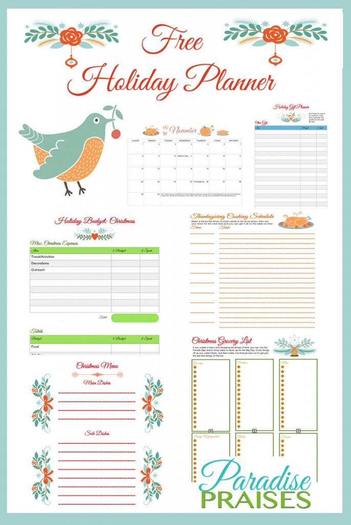 Html Calendar Planner Code : Free printable holiday planner money saving mom