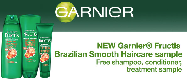 Garnier Fructis Brazilian Smooth Sample