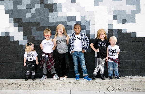 Kids Graphic T-Shirts Cents of Style Black Friday Deal