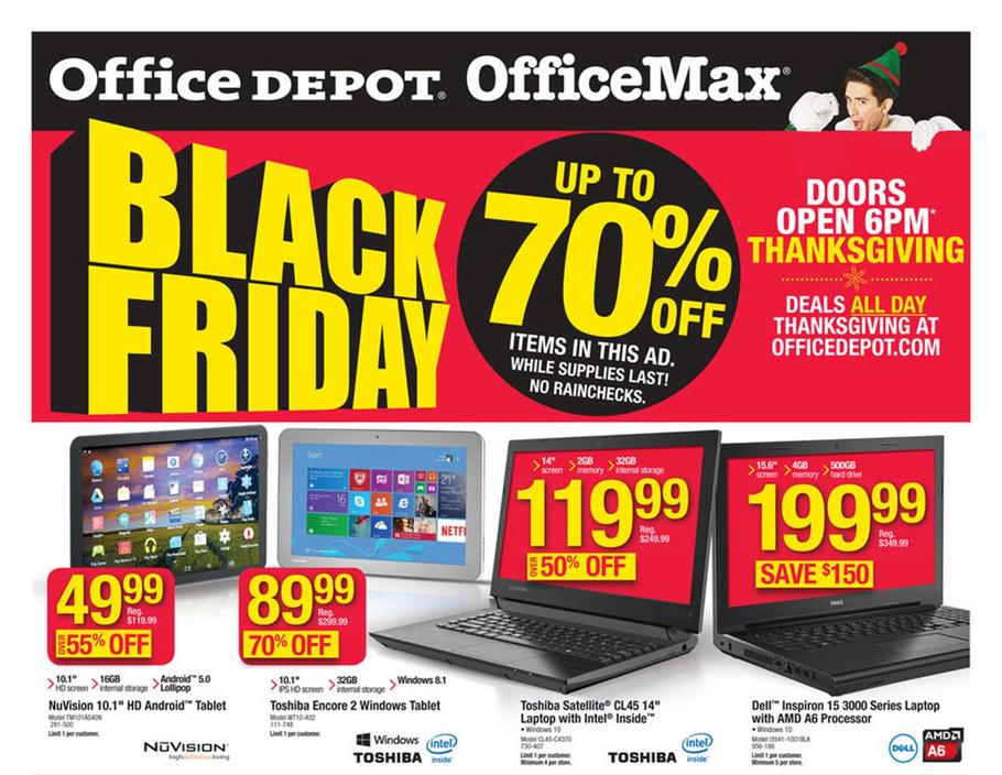 Office Depot Black Friday Ad 2015  Money Saving Mom