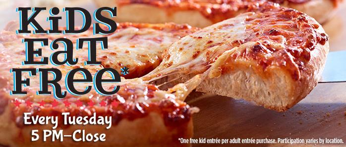 Kids Eat Free Ruby Tuesday on Tuesdays