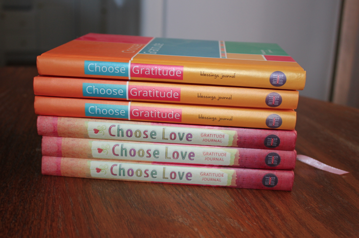 Choose Gratitude Journals just $8.50!