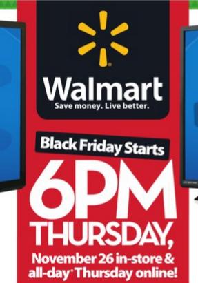 Walmart's Black Friday One-Hour Guarantee
