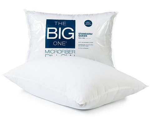The big one microfiber king sized pillow for for How big are king size pillows