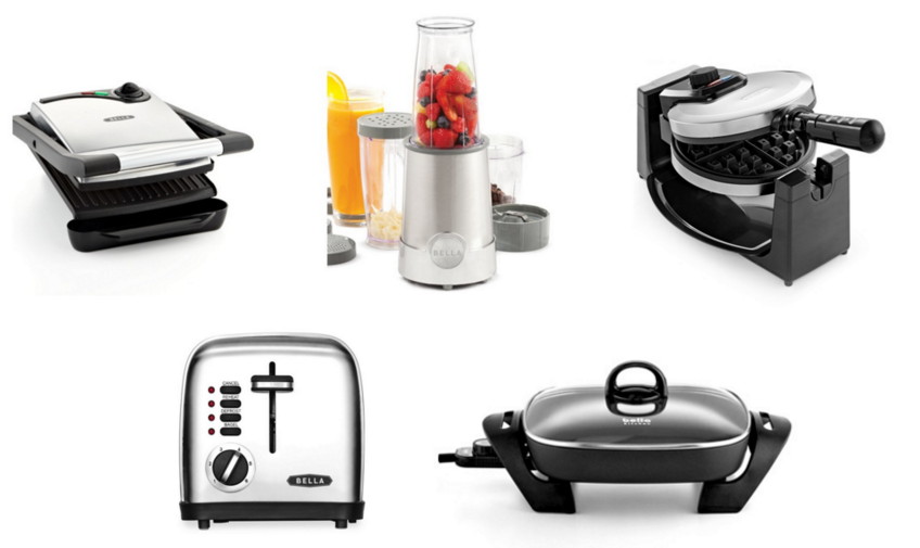 macys: bella kitchen appliances for just $7.99 after rebate