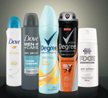 Free Full Size Dry Spray Antiperspirant