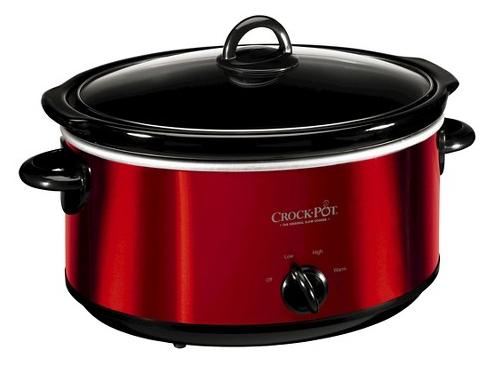 Crock-Pot 6 Quart Slow Cooker Black Friday Deal