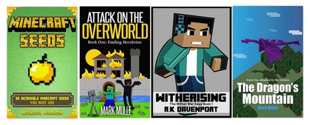 72 Free Minecraft Kindle Ebooks