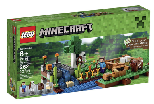 LEGO Minecraft Cyber Monday Deal