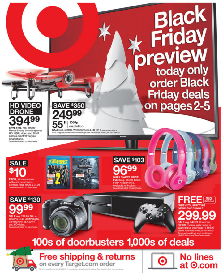 Target Black Friday Ad 2015
