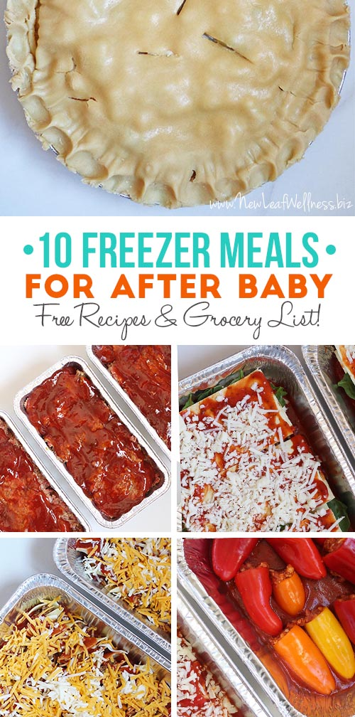 10 Crockpot Freezer Meals for After Baby