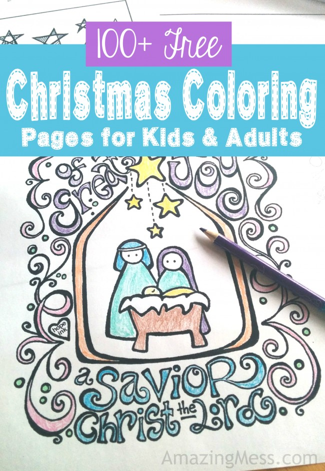 christmas coloring pages for kids and adults money saving mom