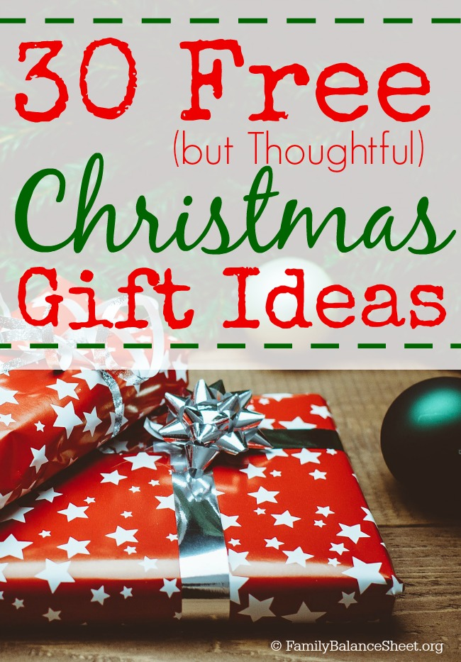 30 free but thoughtful christmas gift ideas money saving mom 30 free but thoughtful christmas gift ideas negle Image collections