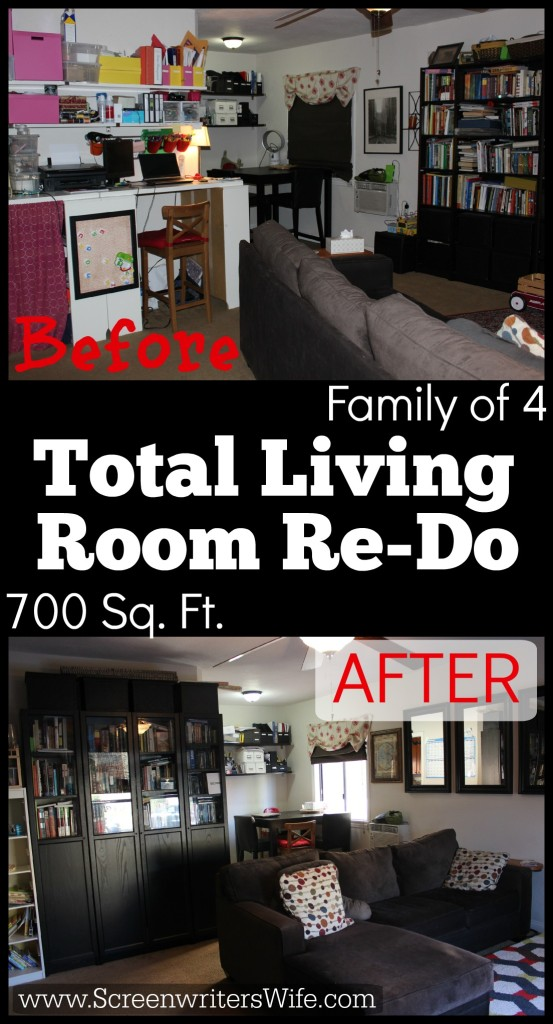 Family of 4 Living in a 700 Square Foot Home Redo