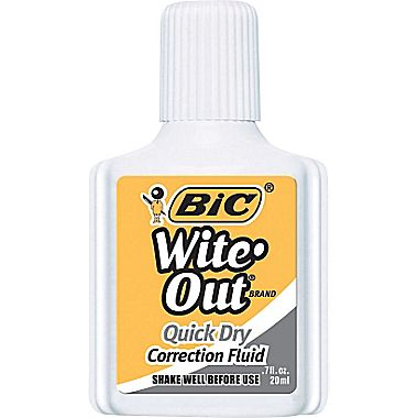 Free Bic Wite-Out