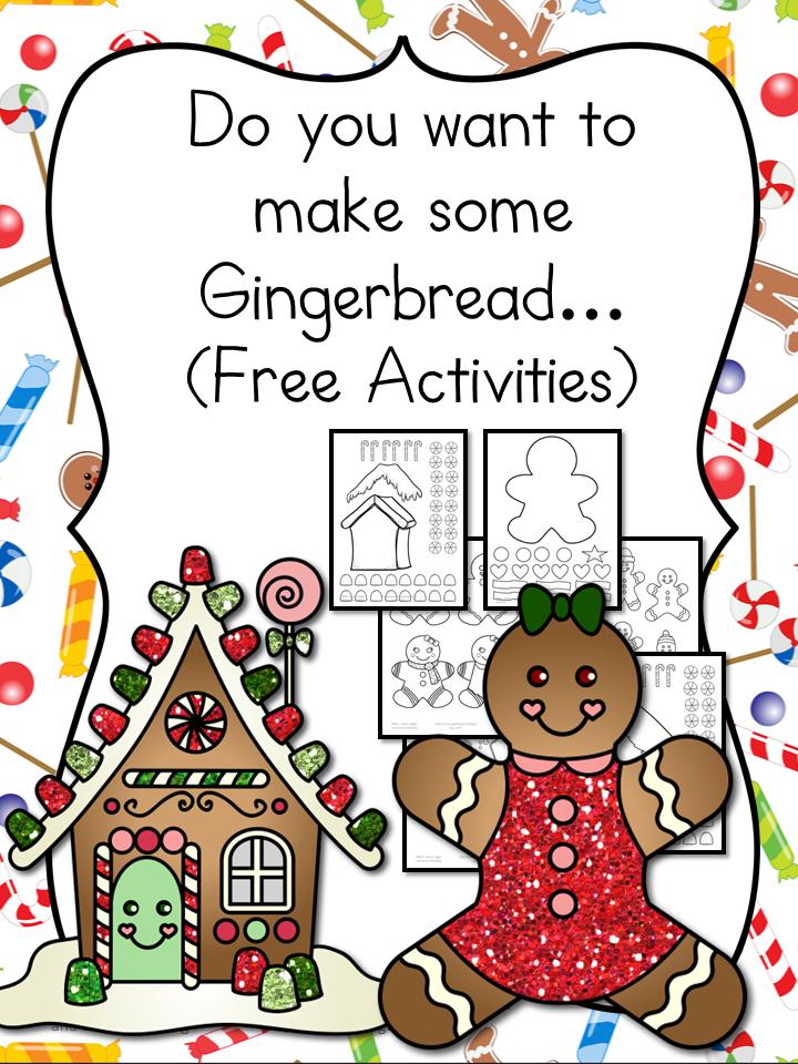 Free Gingerbread Man Cutout Template Money Saving Mom Money