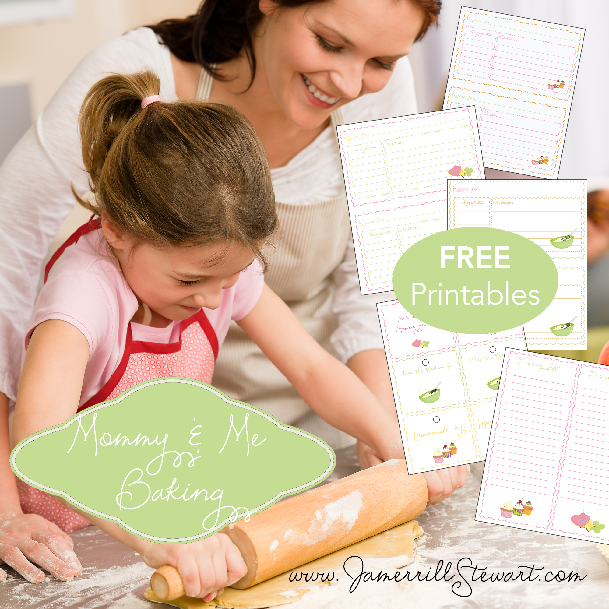 Free Mommy and Me Baking Printables