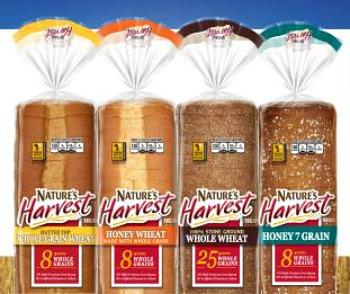 Free Nature's Harvest Bread at Kroger!