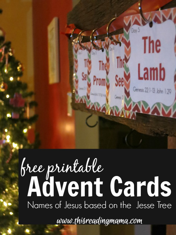 Free Printable Advent Cards