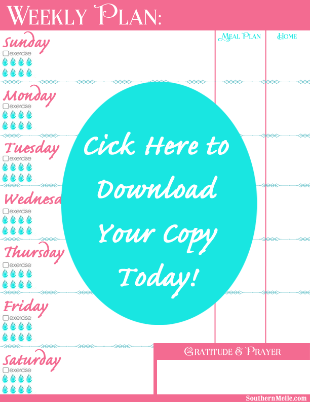 Free Weekly and Daily Printable Planners