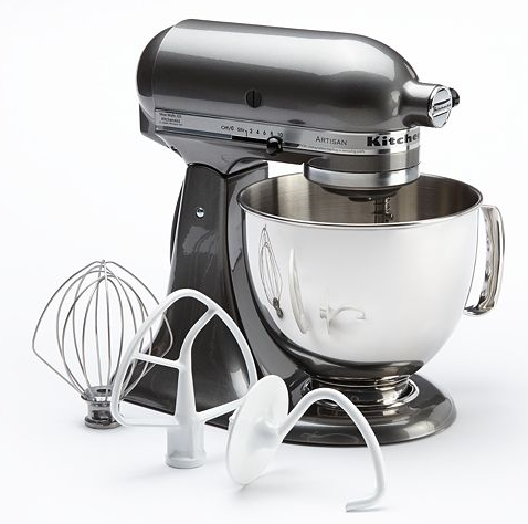 kitchenaid artisan 5 quart stand mixer for just. Black Bedroom Furniture Sets. Home Design Ideas