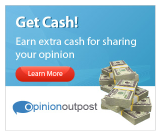 Sign up for Opinion Outpost to earn money taking surveys!