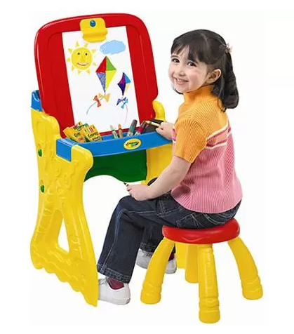 Walmart Com Crayola Play N Fold 2 In 1 Art Studio For