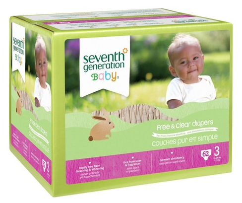 Get Seventh Generation Boxed Diapers for just $12.49 shipped at Target right now!
