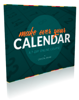 Make Over Your Calendar 7-day Course