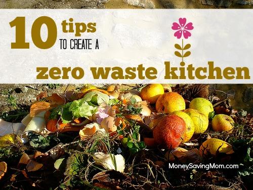 zero waste kitchen