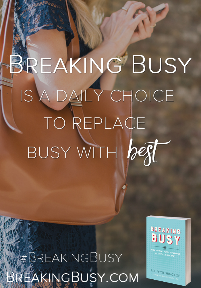 Why we need to start Breaking Busy