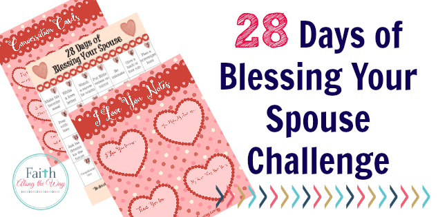 Free 28 Days of Blessing Your Spouse Challenge