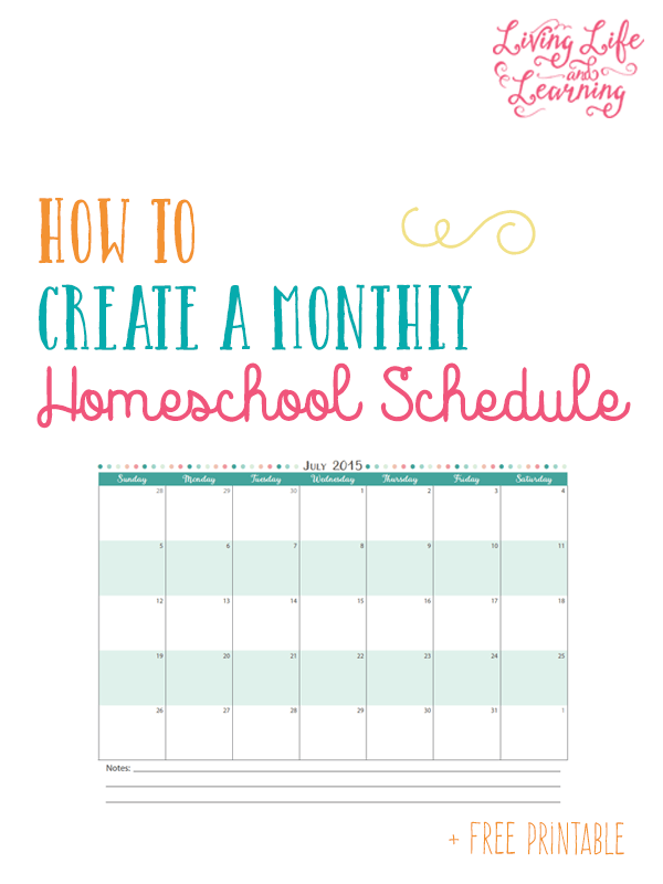 It is a photo of Printable Homeschool Schedule throughout preschool curriculum