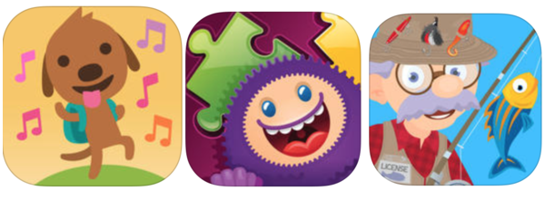 Free App Friday: Fishing with Grandpa, Sago Mini Music Box, GazziliPuzzles, plus many more iTunes apps!
