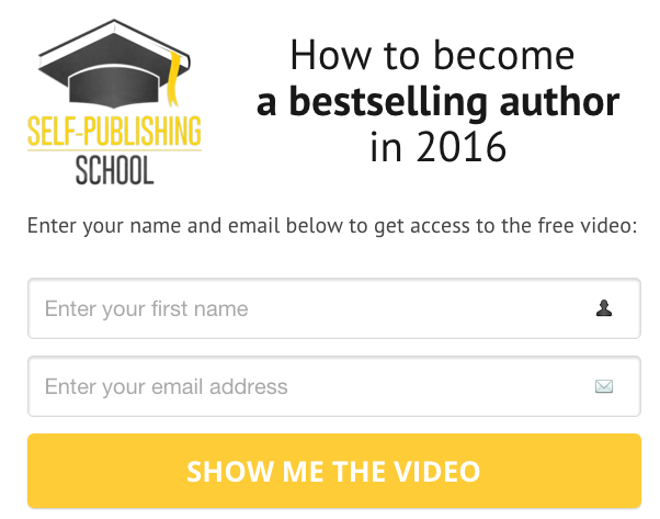 How to become a bestselling author in 2016!