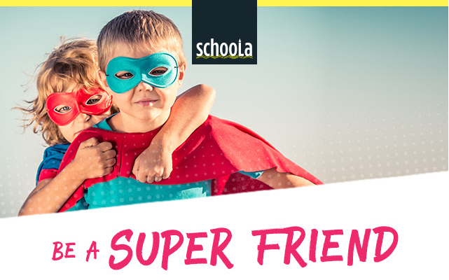 Sign up with Schoola to get a $20 credit to use -- which means free clothing!