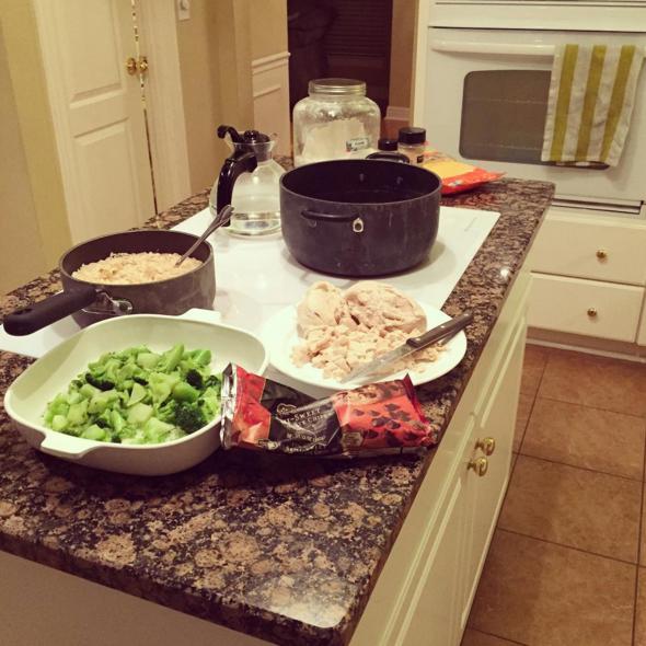 How to Enjoy Making Dinner