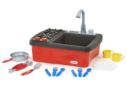 Get the Little Tikes Splish Splash Sink & Stove for just $10.98 right now!